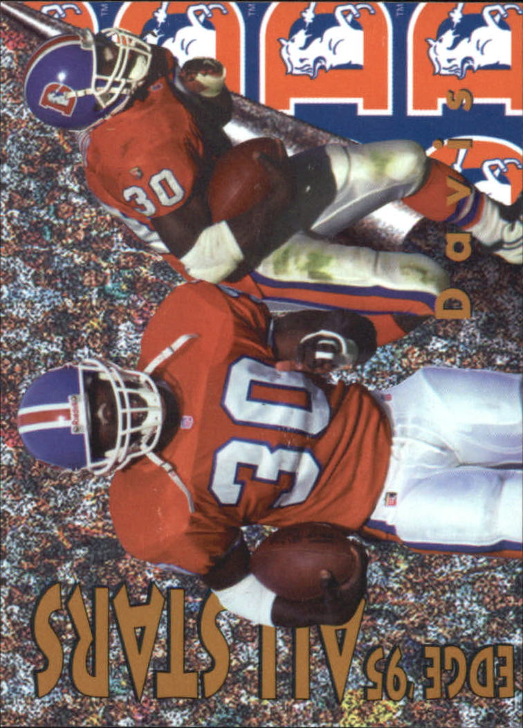 1996 Collector's Edge All-Stars #11 Terrell Davis