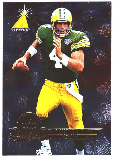1996 Pinnacle Super Bowl Card Show #6 Brett Favre