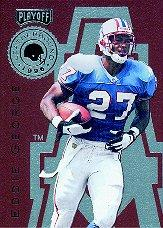 1996 Playoff Leatherbound #1 Eddie George