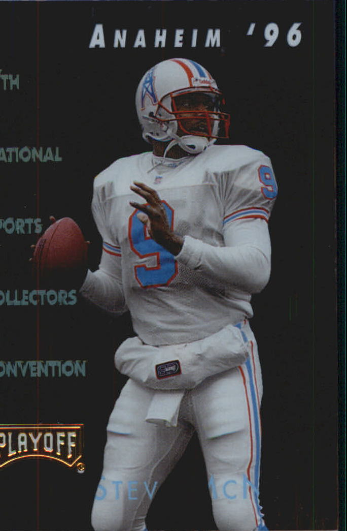 1996 Playoff National Promos #5 Steve McNair