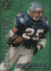 1996 Stadium Club Members Only 50 #50 Curtis Martin MC F