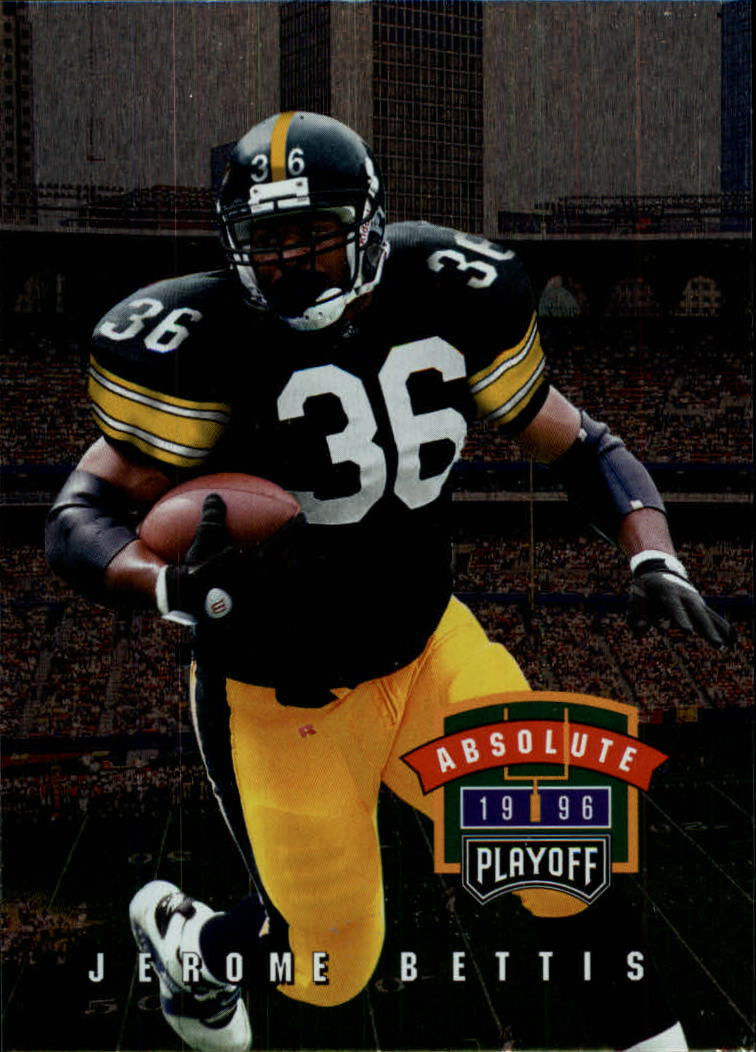 1996 Absolute #96 Jerome Bettis