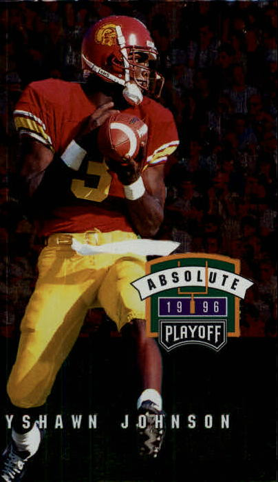 1996 Absolute #143 Keyshawn Johnson RC