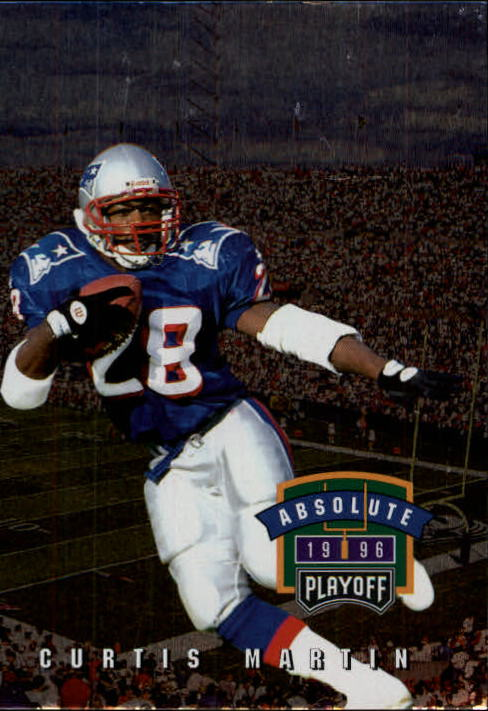 1996 Absolute #160 Curtis Martin