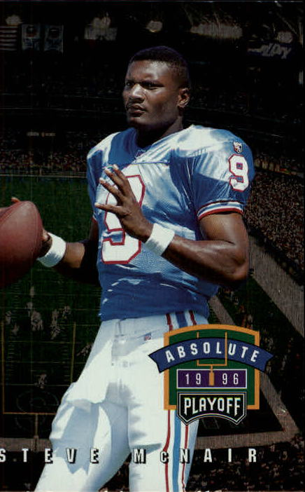 1996 Absolute #165 Steve McNair