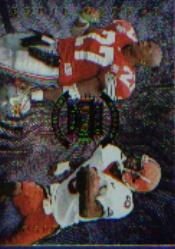 1996 Absolute Quad Series #33 Eddie George/Marvin Harrison/Eric Moulds/Eddie Kennison