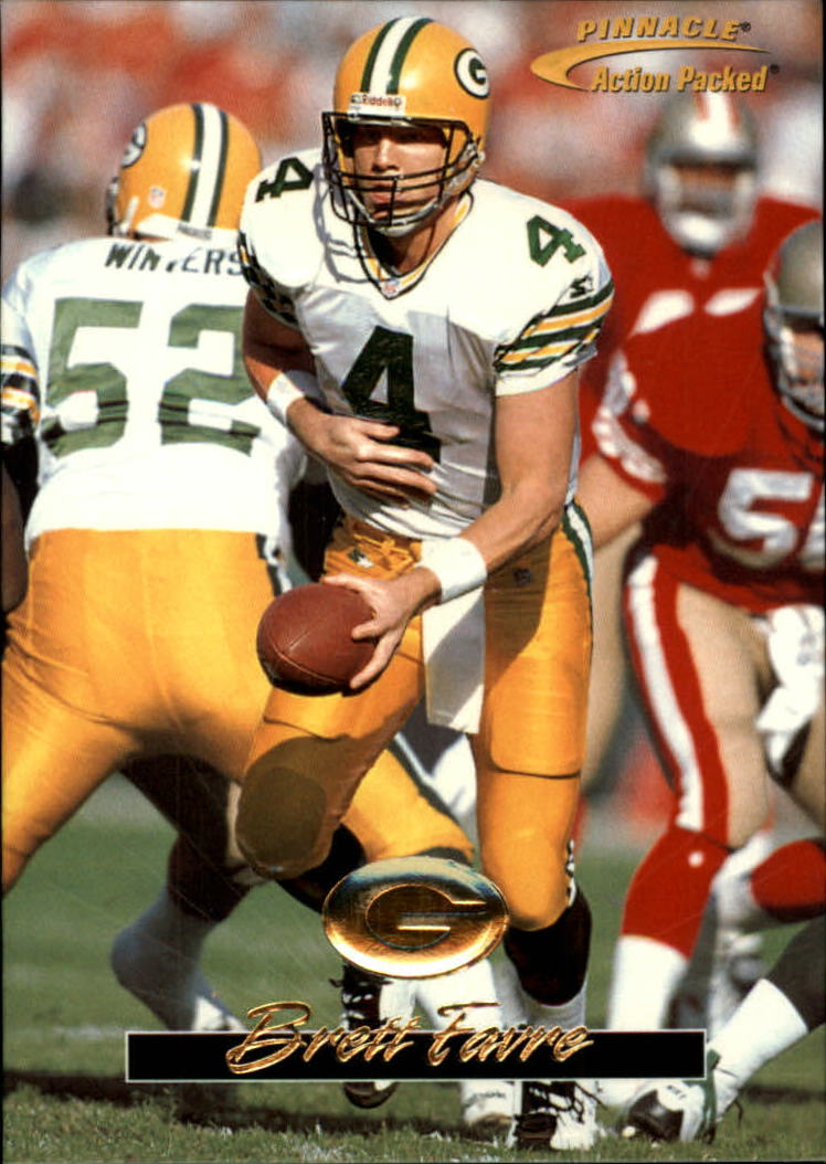 1996 Action Packed #18 Brett Favre