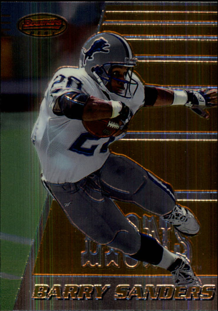 1996 Bowman's Best #90 Barry Sanders front image