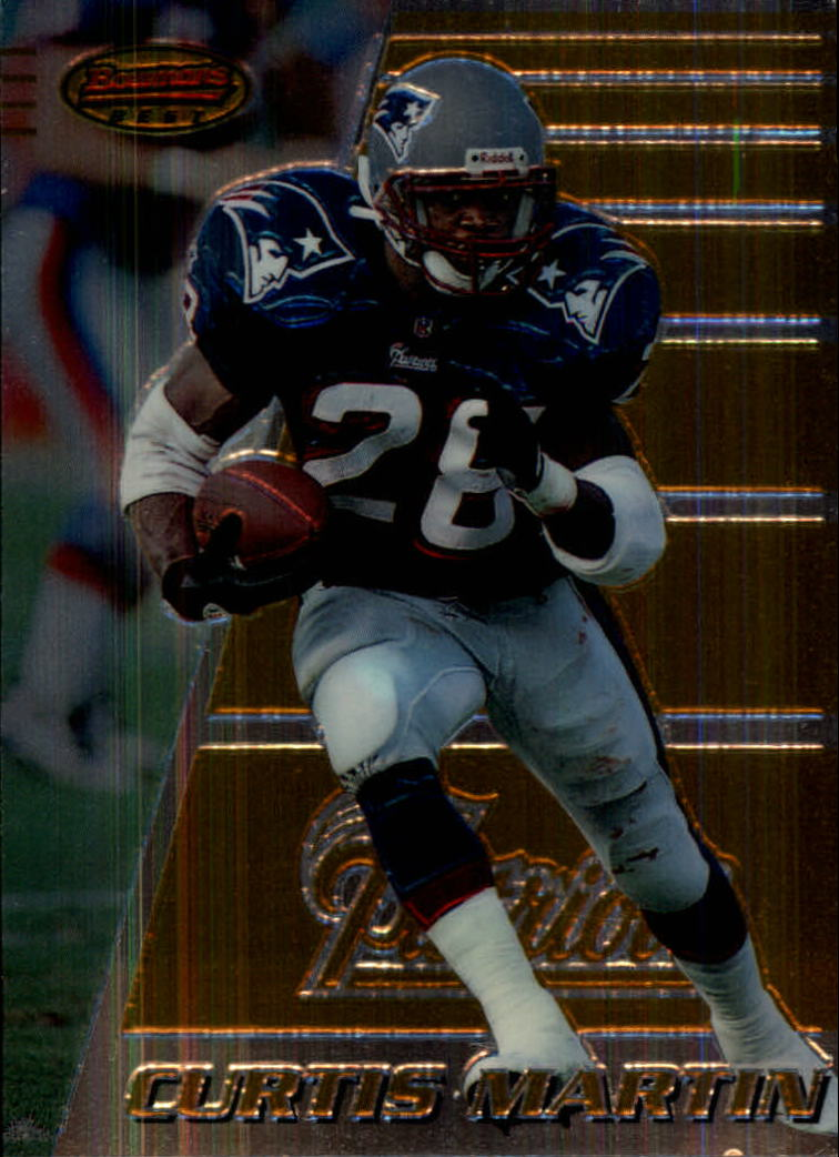 1996 Bowman's Best #120 Curtis Martin
