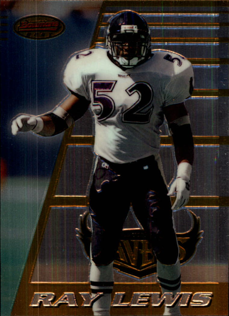 1996 Bowman's Best #164 Ray Lewis RC