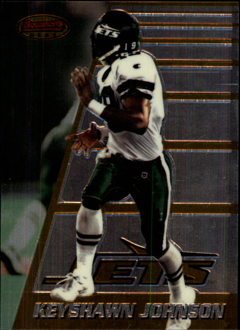 1996 Bowman's Best #180 Keyshawn Johnson RC