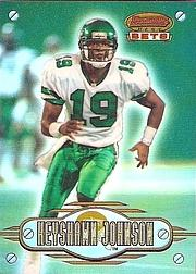 1996 Bowman's Best Bets Refractors #1 Keyshawn Johnson