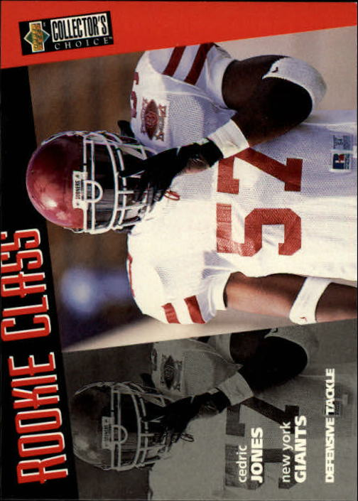 1996 Collector's Choice #5 Cedric Jones RC