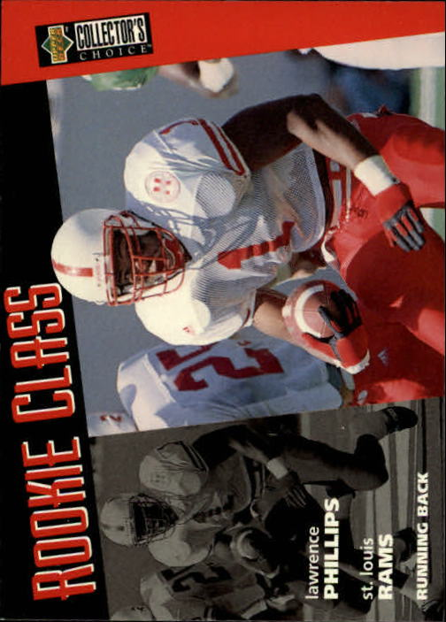 1996 Collector's Choice #6 Lawrence Phillips RC