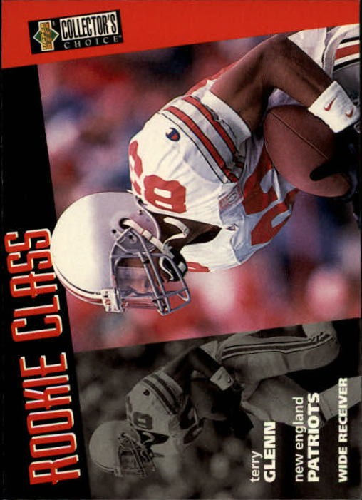 1996 Collector's Choice #8 Terry Glenn RC
