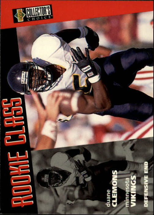 1996 Collector's Choice #14 Duane Clemons RC
