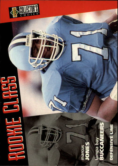 1996 Collector's Choice #18 Marcus Jones RC