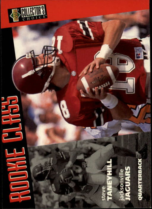 1996 Collector's Choice #45 Steve Taneyhill RC