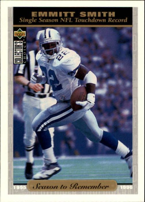 1996 Collector's Choice #51 Emmitt Smith SR