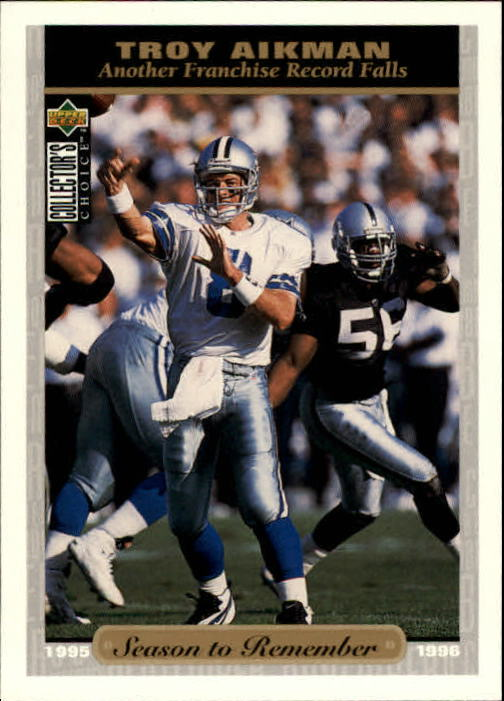 1996 Collector's Choice #53 Troy Aikman SR