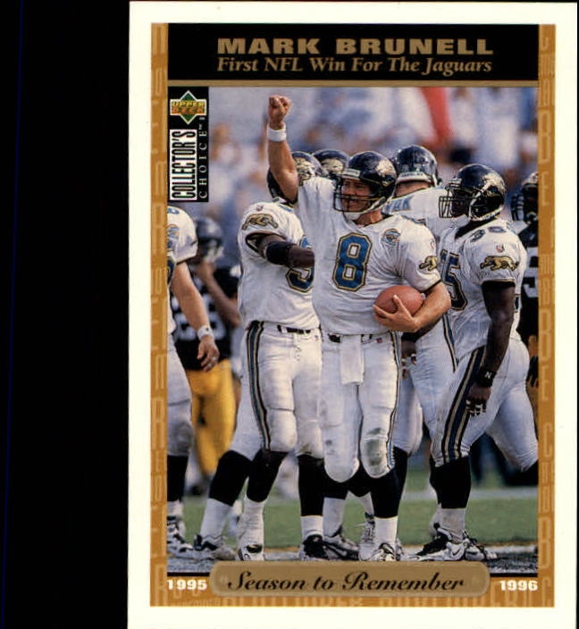 1996 Collector's Choice #60 Mark Brunell SR