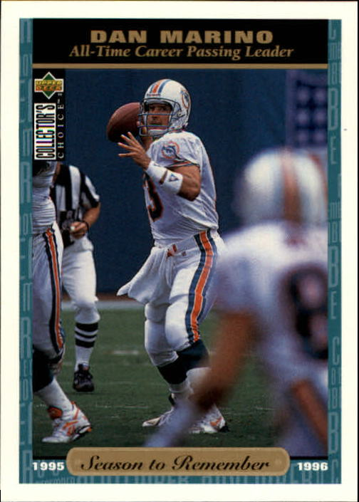 1996 Collector's Choice #64 Dan Marino SR