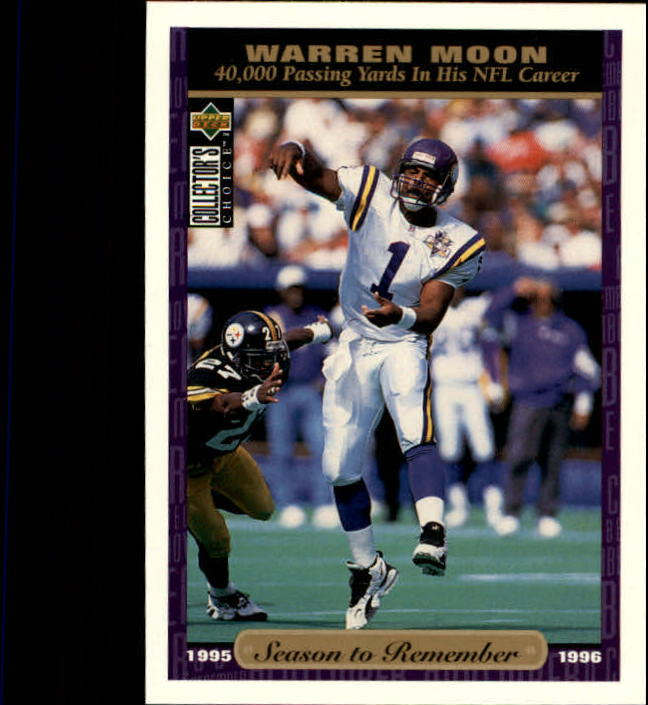 1996 Collector's Choice #65 Warren Moon SR