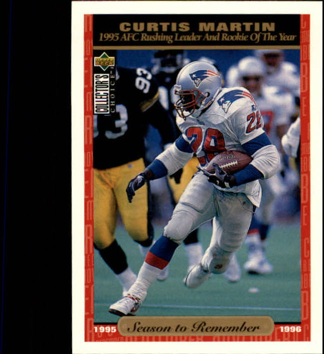 1996 Collector's Choice #66 Curtis Martin SR