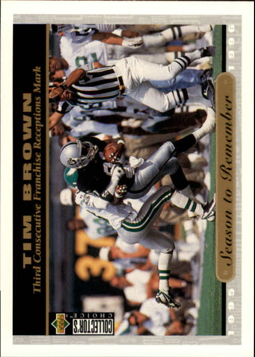 1996 Collector's Choice #70 Tim Brown SR