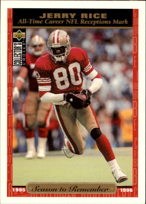 1996 Collector's Choice #74 Jerry Rice SR