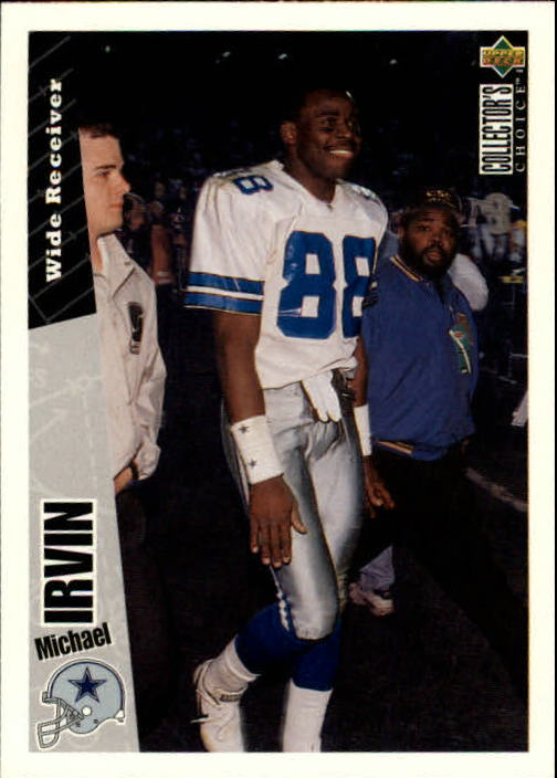 1996 Collector's Choice #86 Michael Irvin