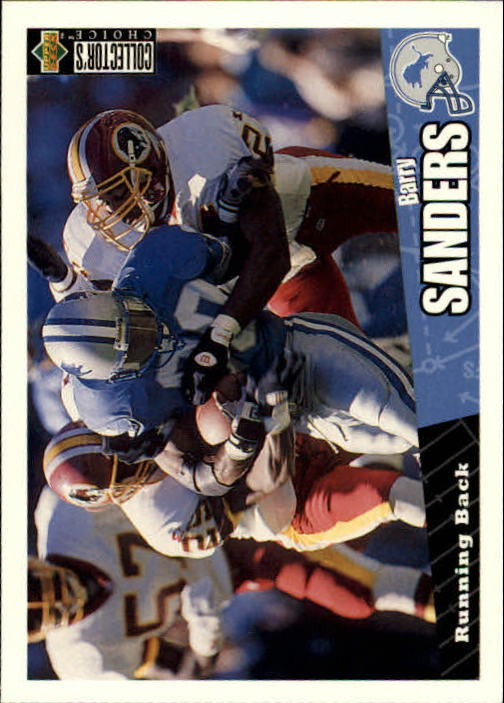 1996 Collector's Choice #88 Barry Sanders