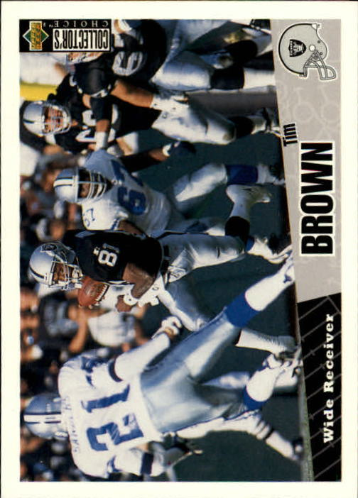 1996 Collector's Choice #99 Tim Brown