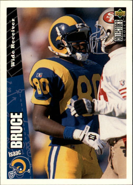 1996 Collector's Choice #102 Isaac Bruce