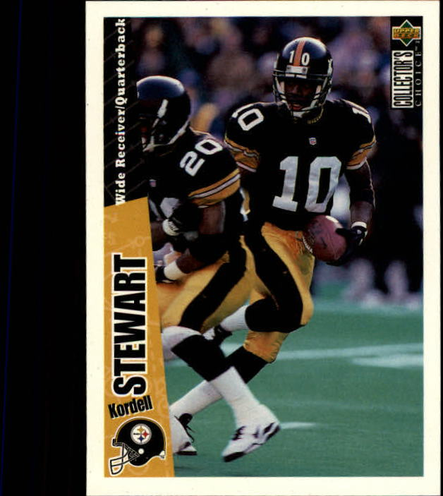 1996 Collector's Choice #161 Kordell Stewart