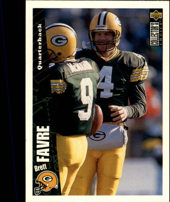 1996 Collector's Choice #178 Brett Favre