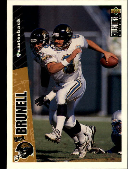 1996 Collector's Choice #181 Mark Brunell