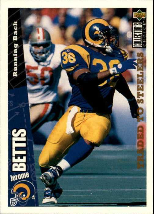 1996 Collector's Choice #222 Jerome Bettis