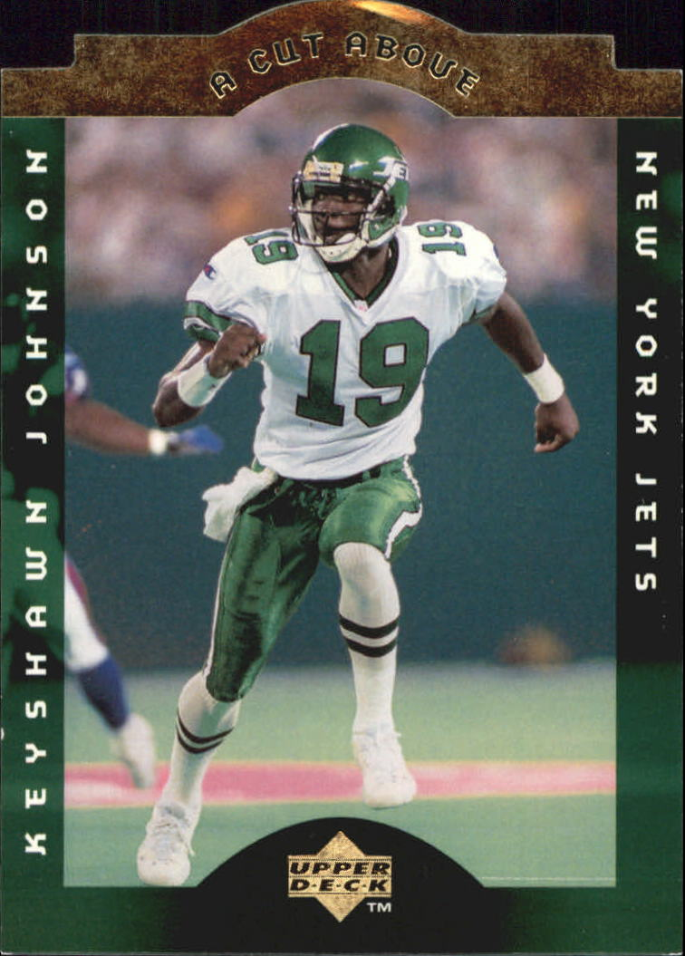 1996 Collector's Choice A Cut Above #7 Keyshawn Johnson