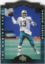 1996 Collector's Choice Dan Marino A Cut Above #CA2 Dan Marino/Dream Season