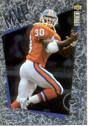 1996 Collector's Choice MVPs #M14 Terrell Davis