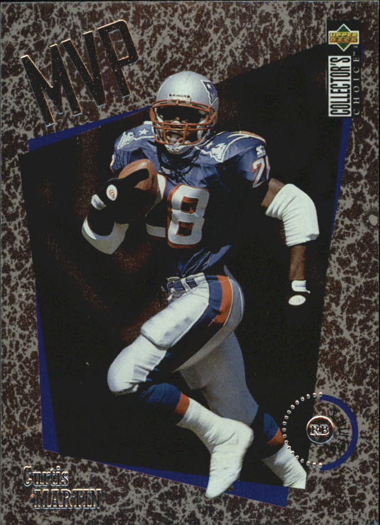 1996 Collector's Choice MVPs #M28 Curtis Martin