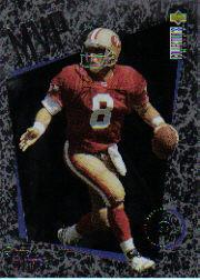 1996 Collector's Choice MVPs #M41 Steve Young