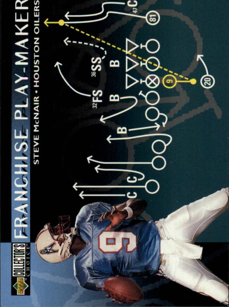 1996 Collector's Choice Update #U74 Steve McNair FP