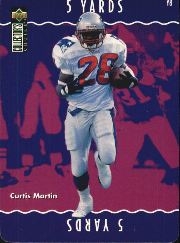1996 Collector's Choice Update You Make The Play #Y8 Curtis Martin