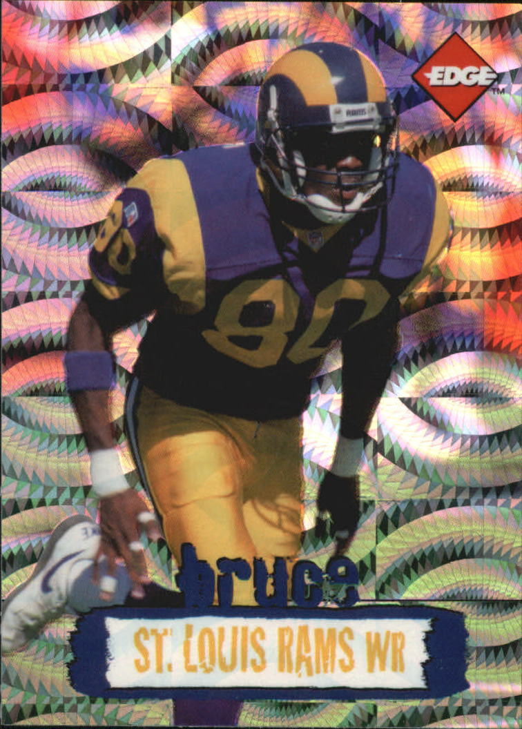 1996 Collector's Edge Holofoil #219 Isaac Bruce