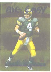 1996 Collector's Edge Big Easy Gold Foil #8 Brett Favre