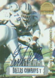 1996 Collector's Edge Cowboybilia Autographs #DCA18 Erik Williams/4000