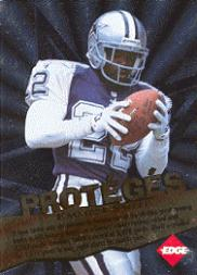 1996 Collector's Edge Proteges #3 E.Smith/E.Rhett
