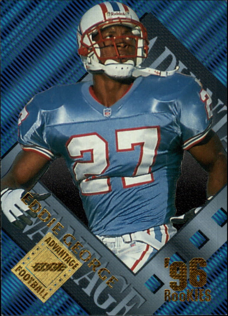 1996 Collector's Edge Advantage #3 Eddie George RC